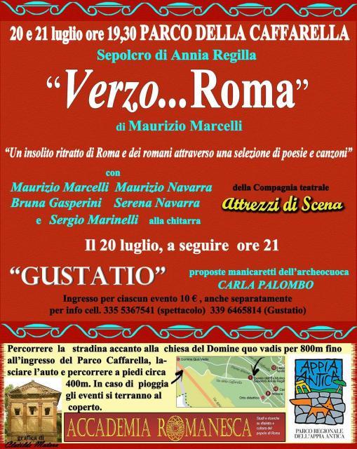 Verzo... Roma